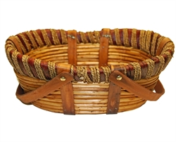 Picture of Oval Drop Handle Basket