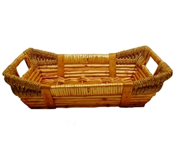 Picture of Rectangular Wooden Basket