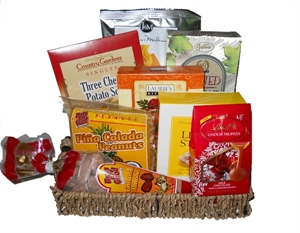 Picture of Mini Soup to Nuts Gift Basket