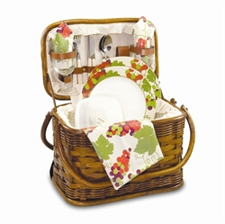 Picture of Picnic Time Romance Picnic Basket