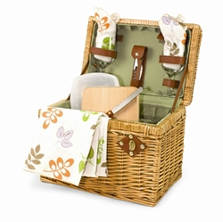Picture of Picnic Time Napa-Botanica Wine & Cheese Picnic Basket