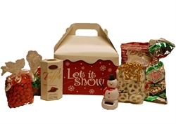 Picture of Let It Snow Gable Gift Box