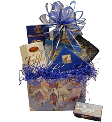 Picture of Snowbound Village Gift Basket