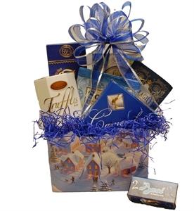Picture of Snowbound Village Gift Basket