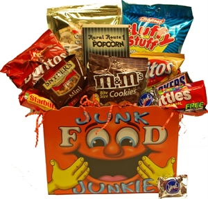 Picture of Junk Food Junkie Gift Basket