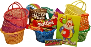Picture of Child's Mini Basket of Fun Gift Basket