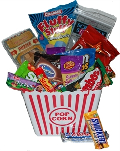 Picture of Family Night Popcorn Tub Gift Basket