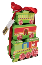 Picture of Train Gift Box Tower