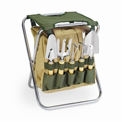Picture of Picnic Time Gardener's Folding Seat with Tools