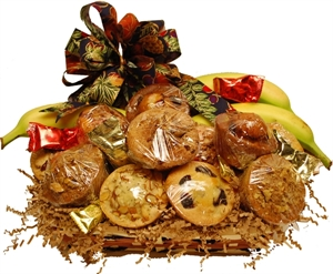 Picture of Home Baked Harvest Gift Basket