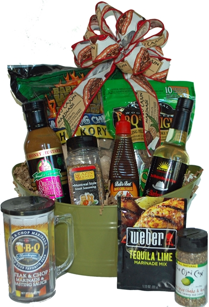 Picture of All Fired Up Gift Basket  sc 1 st  Gift Baskets Albany NY & A One Of A Kind Gift Albany NY Gift Baskets. bbq barbecue menu0027s ...