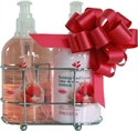 Picture of Strawberry Hand Cleaner & Lotion Caddy Gift