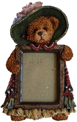 Picture of Elegant Lady Teddy Bear Picture Frame