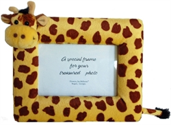 Picture of Giraffe Plush Picture Frame
