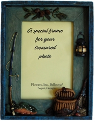 Picture of Fishing Picture Frame