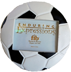 Picture of Soccer Ball Picture Frame