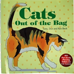 Picture of Cats Out of the Bag Book