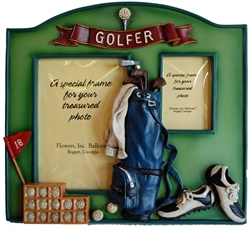 Picture of Golf Double-Picture Frame