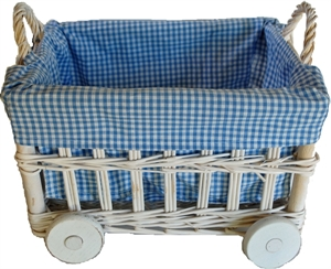 Picture of Baby Carriage - Gingham Lined