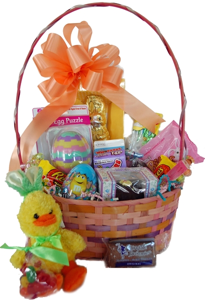 A one of a kind gift albany ny gift baskets duck easter basket picture of easter basket just ducky negle Choice Image