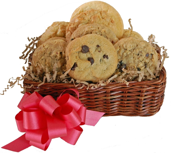 A one of a kind gift albany ny gift baskets fresh baked cookies picture of cookie basket 1 dozen fresh baked negle Image collections