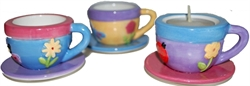 Picture of Tea Cup Tealight Candles