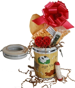 Picture of Dog Treat Canister Gift