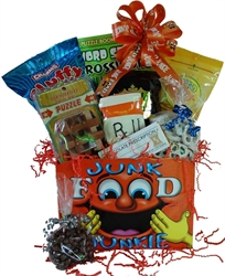 Picture of Get Well for the Junk Food Junkie Gift Basket