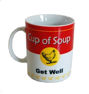 Picture of Chicken Soup Get Well Mug