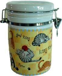 Picture of Cat Treat Canister