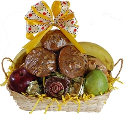 Picture of Fruit & Favorites Gift Basket