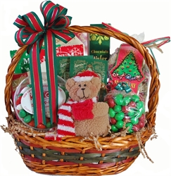 Picture of Beary Merry Christmas Gift Basket