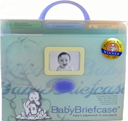 Picture of Baby Briefcase Baby Paperwork Organizer