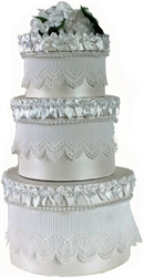 Picture of Wedding Cake 3 Tier Keepsake Gift Boxes