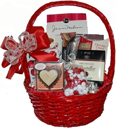 Picture of Valentine Sweets Gift Basket