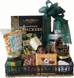 Picture of Appetizer Tray Gift Basket