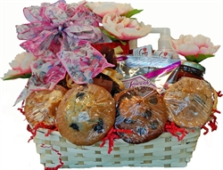 Picture of Pretty in Pink Gift Basket