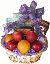 A one of a kind gift albany ny gift baskets healthy choices diets diabetic delight gift basket negle Image collections