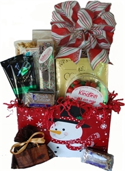 Picture of Snowman Treats Gift Basket - Large