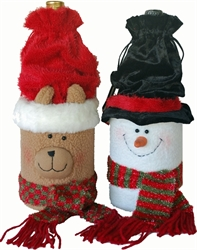 Picture of Holiday Plush Bottle gift box