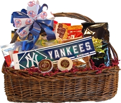 A one of a kind gift albany ny gift baskets specialty theme gifts new york yankees gift basket negle Gallery