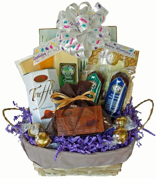 Birthday Gift Baskets Send Birthday Wishes With Gift: A One Of A Kind Gift, Albany NY Gift Baskets. Birthday