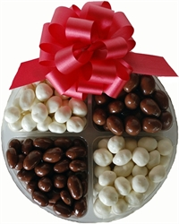 Picture of Chocolate & Yogurt Covered Nuts & Raisins Tray