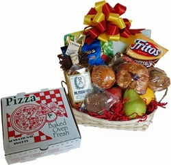 Picture of Get Well Gift Basket + Pizza !