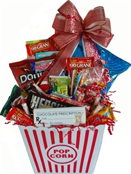 Picture of Get Well Popcorn Tub Full of Treats