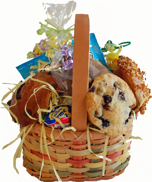 A one of a kind gift albany ny gift baskets easter candy muffins picture of easter muffin candy basket negle Images