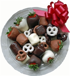 Picture of Chocolate Covered Fruit, Pretzels & Marshmallows