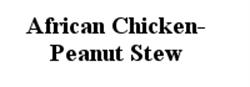 Picture of African Chicken Peanut Stew