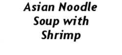 Picture of Asian Noodle Soup with Shrimp