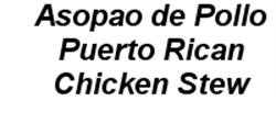 Picture of Asopao de Pollo - Puerto Rican Chicken Stew